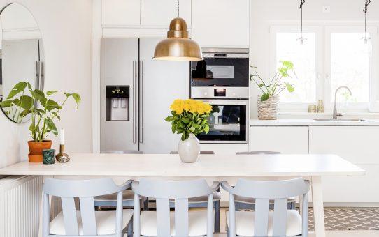 北欧の明るい台所
