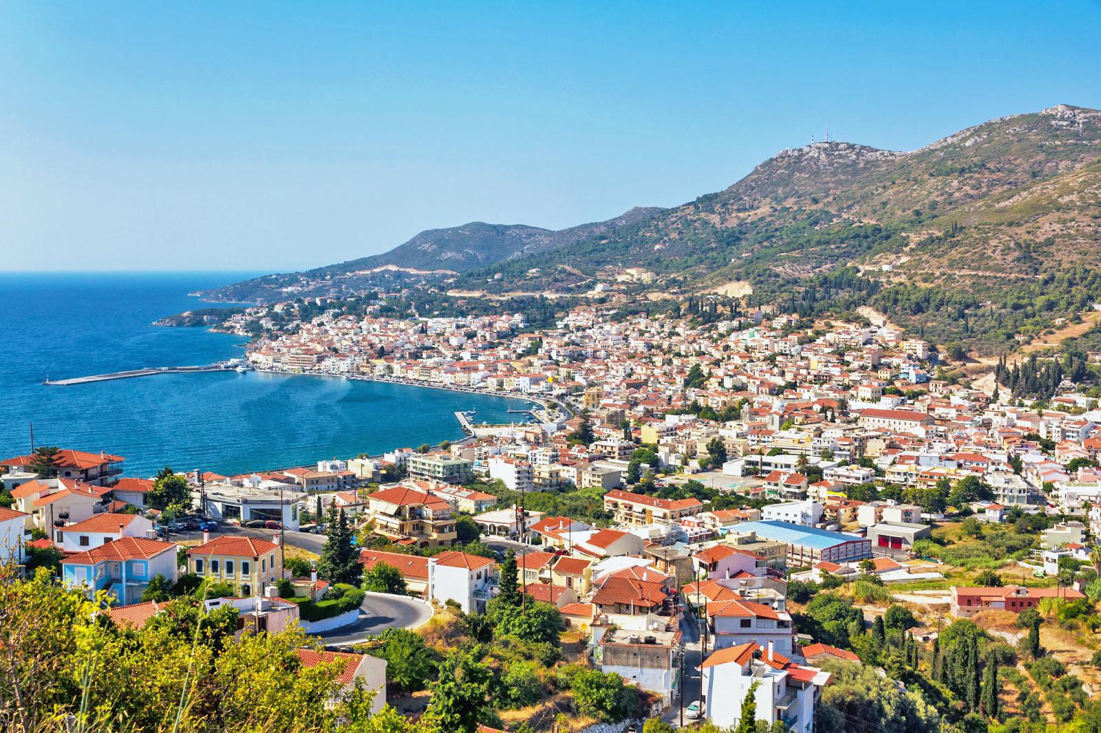 ギリシャ サモス島 ヴァティ